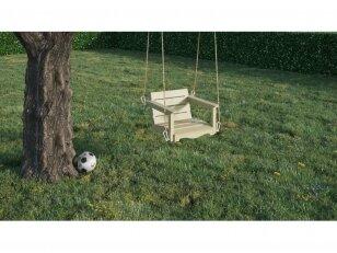 Medinis sūpynių krėsliukas
