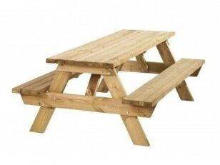 Stalas sujungtas su suolais 2.2 m