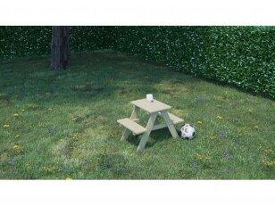 """Vaikiškas pikniko staliukas su suoliukais """"MINI"""""""