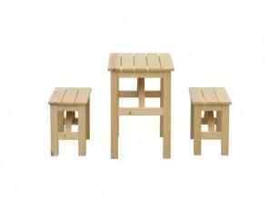 Medinis staliukas vaikams